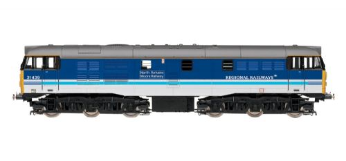 "Hornby R2963 Class 31/4 31439 diesel in Regional Railways livery ""North Yorkshire Moors Railway"" DCC Ready."